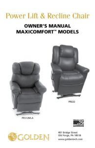 thumbnail of 1. MaxiComforter Owner's Manual