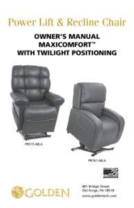 thumbnail of 3. Twilight (PR-515 & 761) Owner's Manual