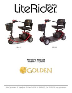 thumbnail of 5. Golden Owners Manual – LiteRider Scooters GB110 GB140
