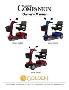 thumbnail of 6. Golden Owners Manual – Companion GB240 GB340 GB440