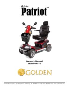 thumbnail of 7. Golden Owners Manual – Patriot Scooter GR575
