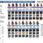 thumbnail of Golden Power Lift Recliner Offering Sheet – Fall 2021